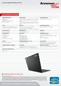 Das Lenovo® thinkPaD® X1 carBon touch - Icecat.biz - Page 4