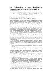 Baumgartner_1999_10 Todsuenden in der Evaluation - Peter ...