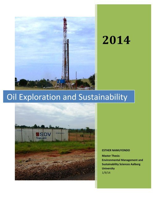 Oil Exploration and Sustainability
