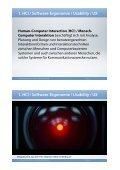 1. HCI / Software-Ergonomie / Usability / UX - Beuth Hochschule für ... - Seite 3