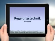 Regelung - Beuth Hochschule für Technik Berlin