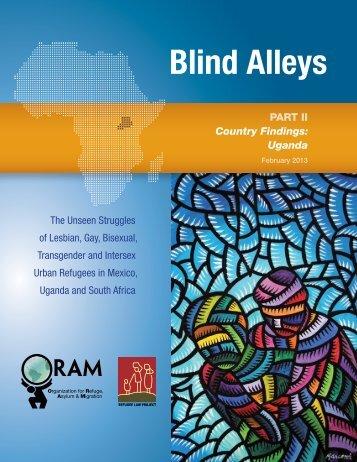 Blind Alleys - ReliefWeb