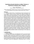 Identifying Genetic Solutions to Motor Defects in Parkinson's ... - Page 2
