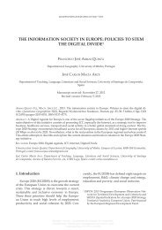 the information society in europe - Universidade do Minho