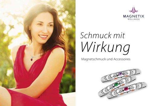 Magnetix Sommerkatalog 2014 Magnetschmuck aus Frankfurt