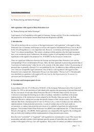 Convenience translation of THOMAS KRANIG / STEFAN ...