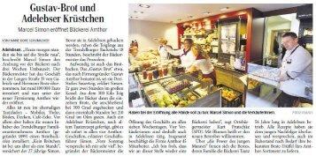 Bäckerei Amthor in Adelebsen