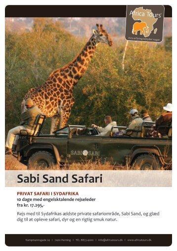 Sabi Sand Safari