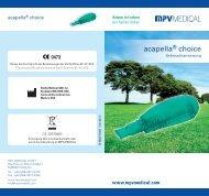 acapella® choice - Amazon S3