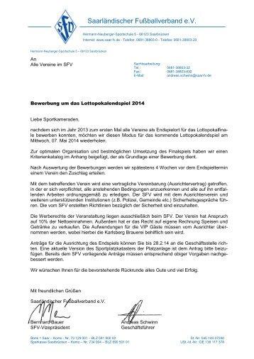 Saarländischer Fußballverband e.V.