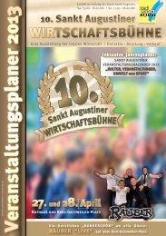 Veranstaltungsplaner 2013 - Stadt Sankt Augustin