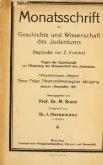 Monatsschrift für Geschichte und Wissenschaft des Judenthums - Page 5