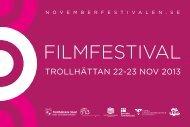 LÄS 2013 års PROGRAM SOM PDF HÄR - Novemberfestivalen