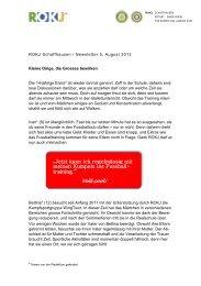 Newsletter 5, August 2013