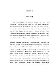 CHAPTER VI CONCLUSION - Shodhganga