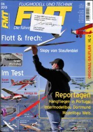 Testbericht FMT 6-13 Columbia 400 150 - lindinger.at - Modellbau ...