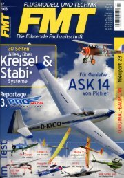Testbericht FMT 7-13 6,85 Mb - Lindinger.at - Modellbau Lindinger