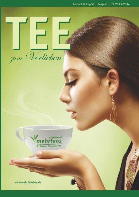 Teepreisliste 2013/2014