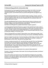Hamburger Programm - solidarische Bürgergesellschaft