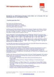 16.12.2013 Haushaltsrede des SPD-Fraktionsvorsitzenden Norbert ...