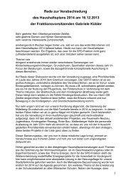 Rede zur Verabschiedung des Haushaltsplans 2014 am 16.12.2013 ...