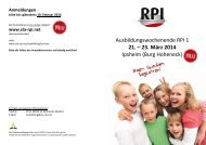 21. – 23. März 2014 - RPI