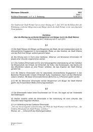 10.8* Ehrennadelrichtlinie - Stadt Weimar