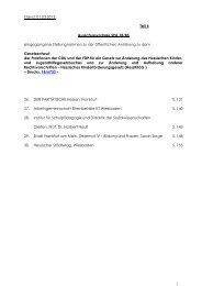Stand: 01.03.2013 Teil 4 Ausschussvorlage SPA 18/85 ... - Hessen