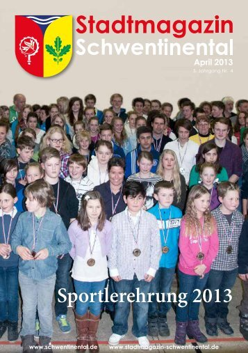 April - Stadtmagazin Schwentinental