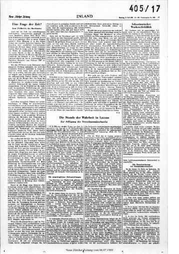 Stillegung des Versuchsatomkraftwerks - Neue Zürcher Zeitung