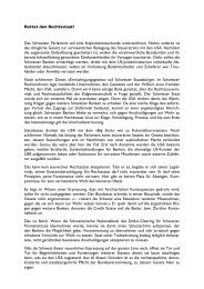 Rettet den Rechtsstaat! - Neue Zürcher Zeitung