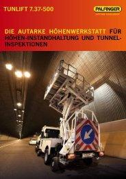 tunLift 7.37-500 Die AutArke HöHenwerkstAtt für HöHen ... - Palfinger