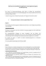 Urteil des LG Linz betreffend Vertragsklauseln in einem ... - Wuapaa