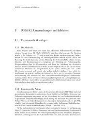 3 REM-KL Untersuchungen an Halbleitern