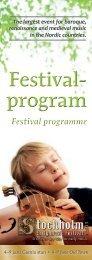 SEMF 2013 Festivalprogram (pdf) - Sveriges Radio
