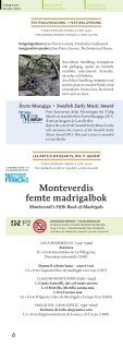 SEMF 2013 Festivalprogram (pdf) - Sveriges Radio - Page 6