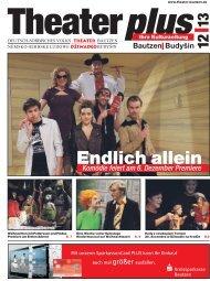 Endlich allein - Deutsch-sorbisches Volkstheater