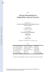 Message dissemination in mobile delay tolerant networks