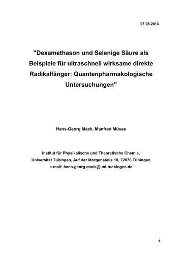 PDF 173kB - TOBIAS-lib - Universität Tübingen