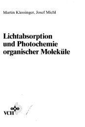 Lichtabsorption und Photochemie organischer Moleküle