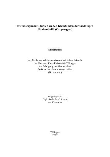 PDF 44.747kB - TOBIAS-lib - Universität Tübingen