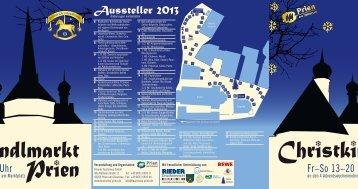 Aussteller 2013 - Priener Tourismus GmbH - Prien am Chiemsee