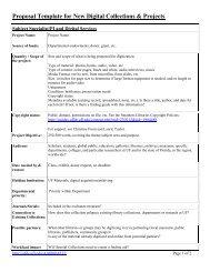 ProposalTemplateforNewDigitalCollections ( PDF ) - UFDC Image ...