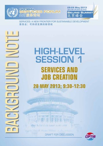 Services and Job Creation - Unctad