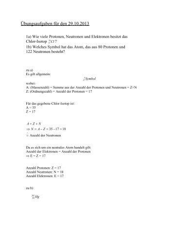 Übung 01 vom 29.10.2013