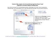 Erstellung und Vervielfältigung von VCDs mit ... - Userpage