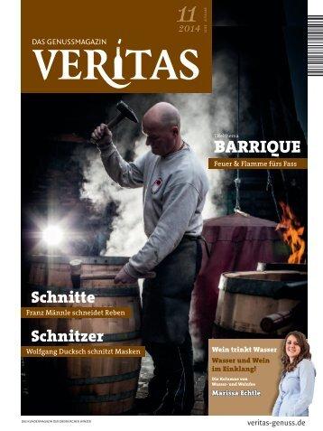 VERITAS - Das Genussmagazin / Ausgabe 11-2014