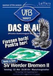 Das Blaue - VfB Oldenburg