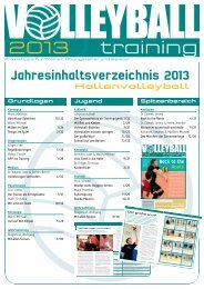 2013 training - Volleyball.de