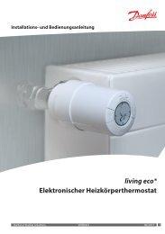 living eco® Elektronischer Heizkörperthermostat - Danfoss